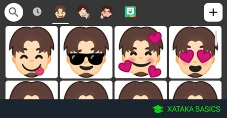 Cómo crear stickers con tu cara con Gboard para WhatsApp o cualquier otra app