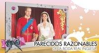 Parecidos razonables de la boda del príncipe Guillermo y Catalina