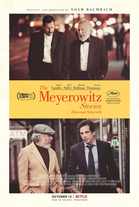 Cartel de The Meyerowitz Stories