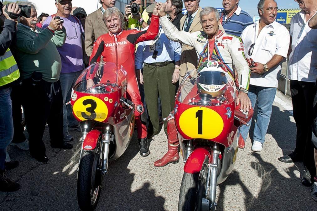 Angel Nieto Giacomo Agostini 1
