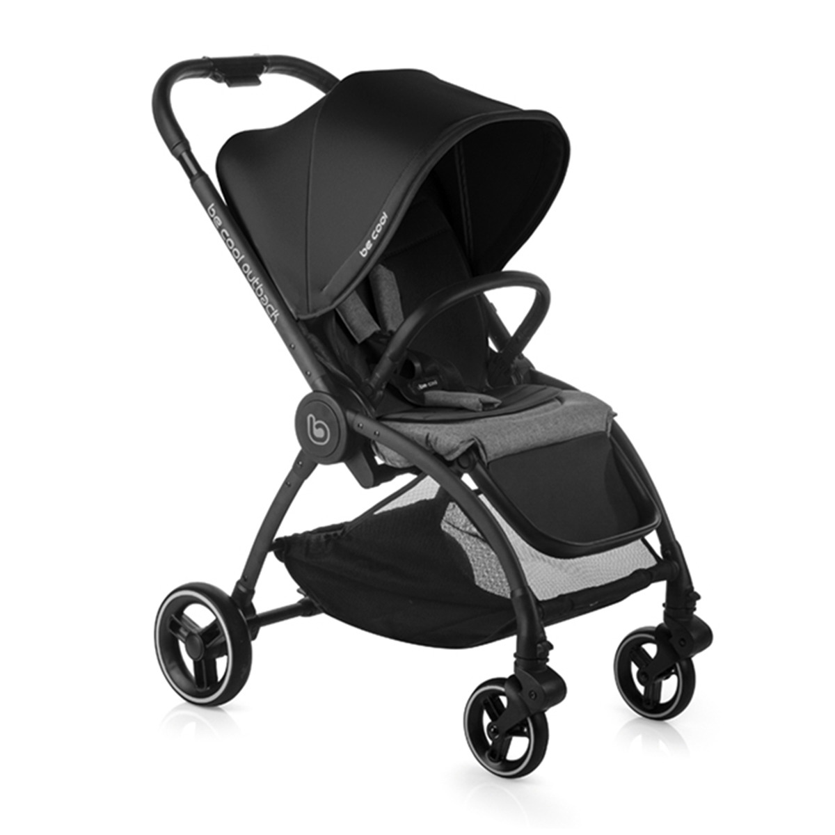 Silla de paseo Be Cool Outback Be Black negro