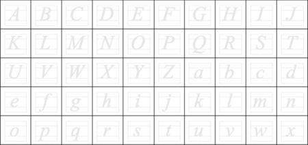 Cómo crear una fuente para ordenador con tu propia letra