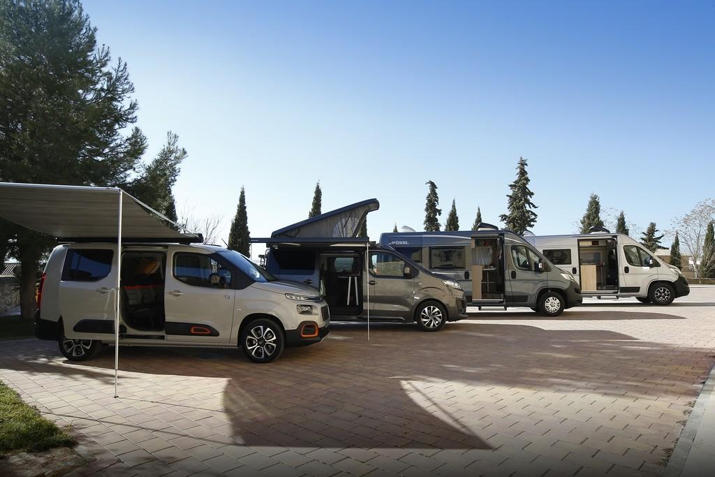 Un día con las furgonetas camperizadas de Citroën, o cómo entrar en el mundo camper a medida y con garantía de la marca