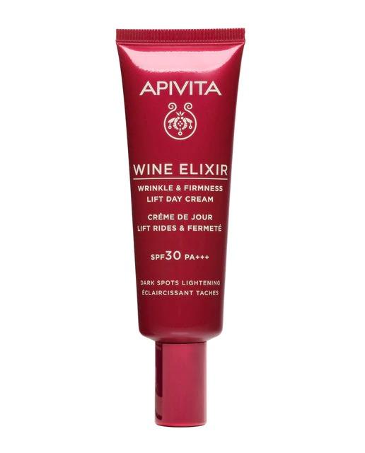 Crema de día Wine Elixir Rica 50 ml Apivita