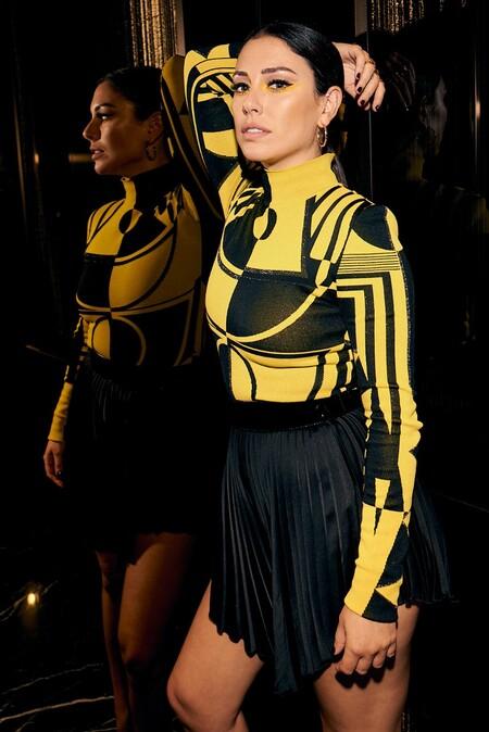 Blanca Suárez se ha marcado este lookazo para la presentación de 'Jaguar', su nueva serie en Netflix