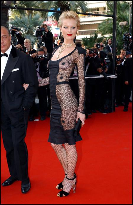 Eva Herzigova Festival de Cannes peor vestidas