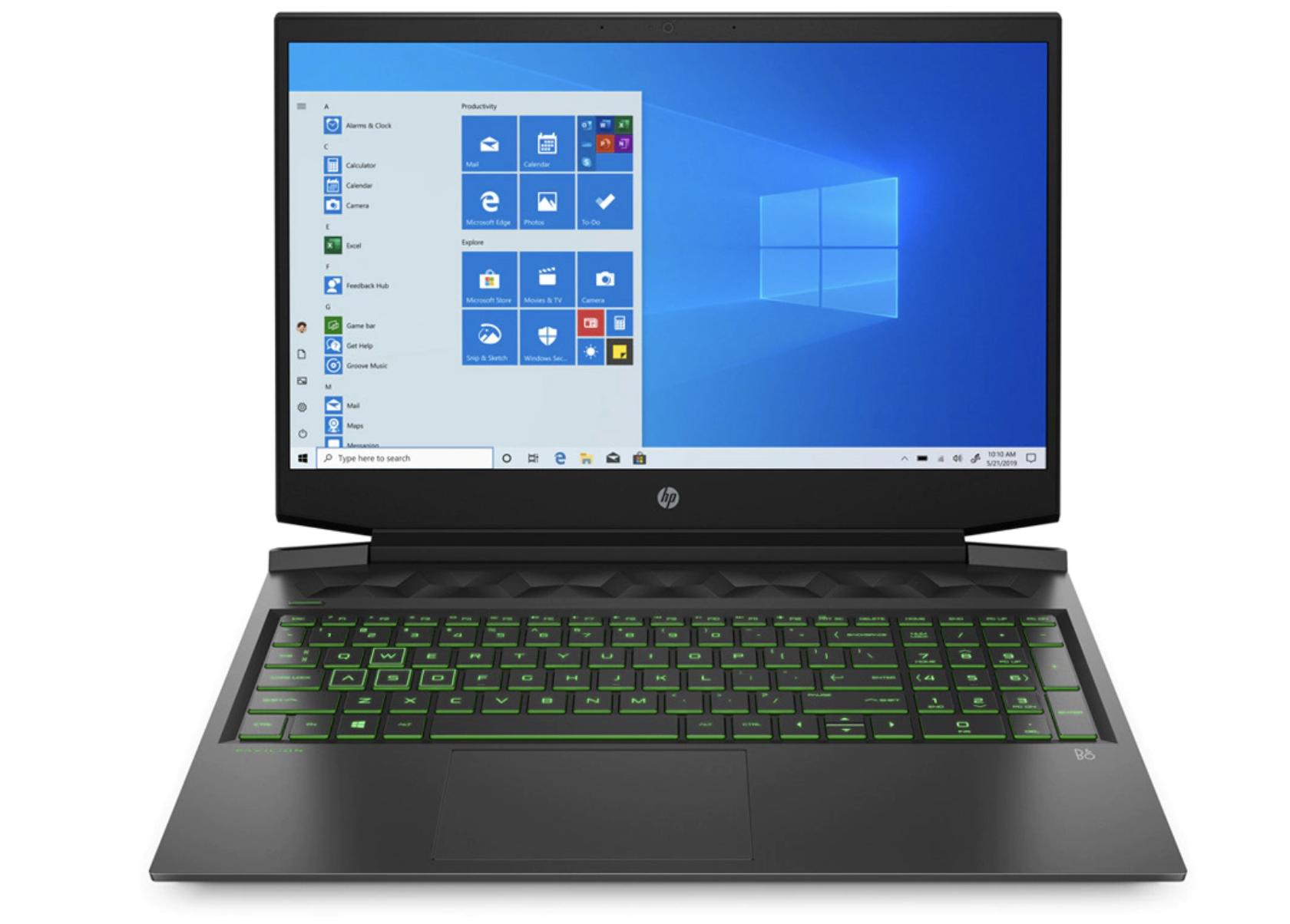 HP Pavilion Gaming 16-a0044ns, i5, 8GB, 512GB SSD, GeForce GTX 1650Ti 4GB