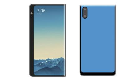 Xiaomi patenta dos teléfonos con pantalla envolvente similares al Mi MIX Alpha