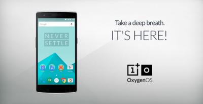 OxygenOS ya disponible para su instalación