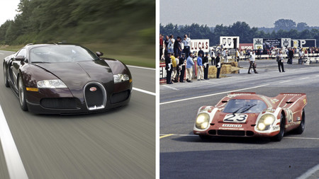 El Porsche 917 de los 70 fue el rival más importante para el Bugatti Veyron ¿La razón? Su velocidad máxima