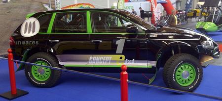 El todoterreno eléctrico Inmares e-Cross promete hasta 1.000 kilómetros de autonomía