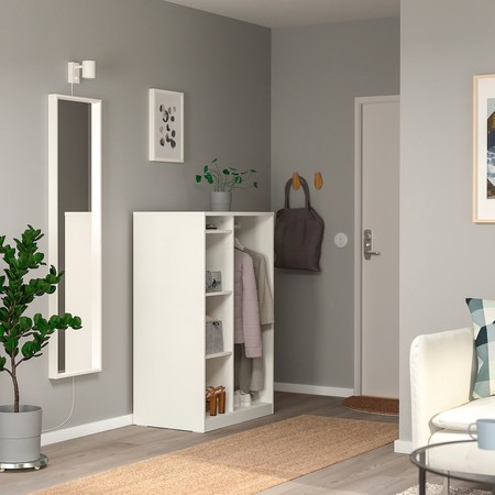 Syvde Open Wardrobe White 0720801 Pe732859 S5