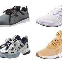 Ofertas en tallas sueltas de zapatillas DC Shoes, Adidas o Puma   por menos de 30 euros en Amazon