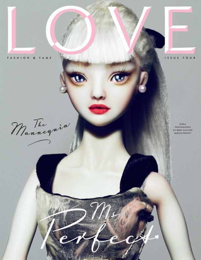 Foto de Duelo de modelos y portadas en la revista Love: Gisele Bündchen y Agyness Deyn, entre otras (3/6)