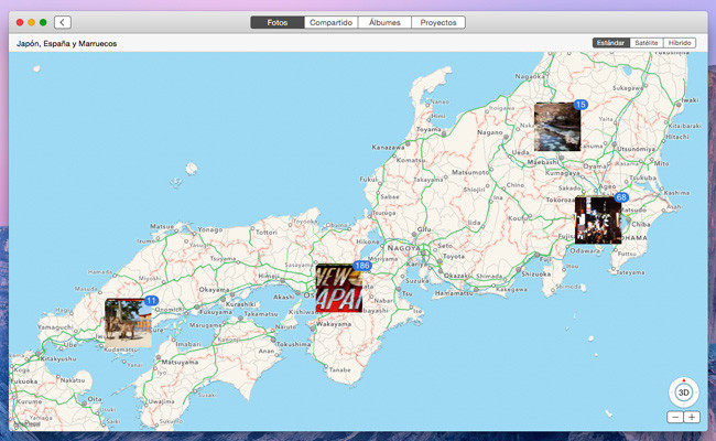 Cómo ver dónde hiciste tus fotografías en la app Fotos