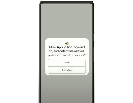 Android 12 Nearby Devices Permission