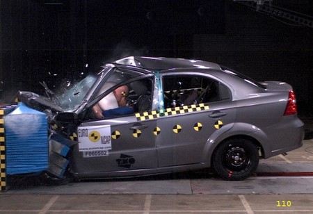 Chevrolet Aveo - EuroNCAP