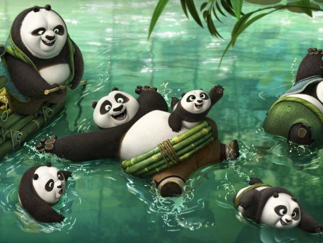 Escena de 'Kung Fu Panda 3'