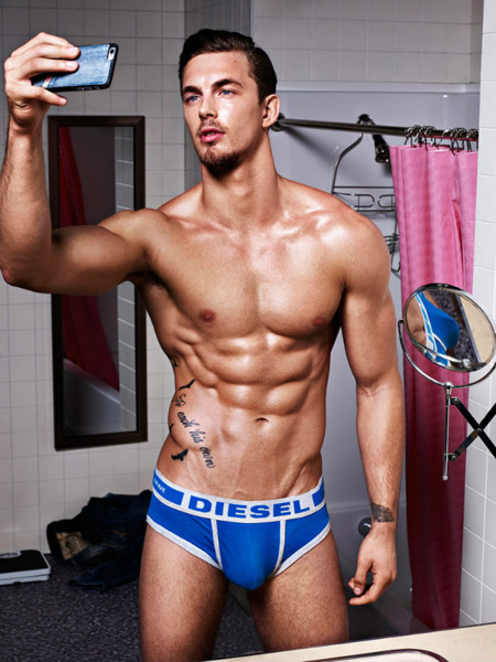 Diesel Underwear Hero Fit 2015 Campaign 010