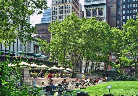 El Parque Bryant de Nueva York, antigua cisterna de la ciudad