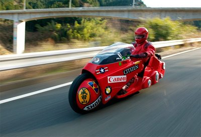 La moto futurista de la película 'Akira' construida de verdad
