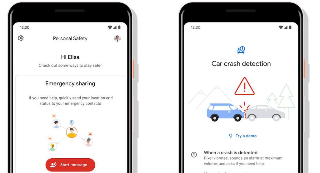 Los Google™ Pixel detectarán si has tenido un accidente de tráfico y llamarán al servicio de emergencias automáticamente