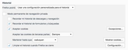Firefox Historial 2