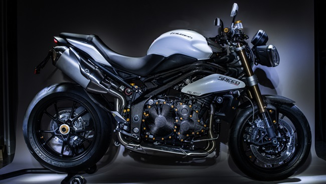 Triumph Speed Triple by Lightech