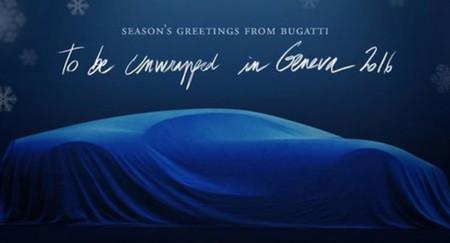 Bugatti Chiron Christmas Card