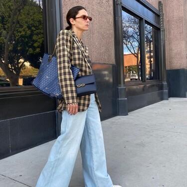 Los jeans wide leg más bonitos que podemos encontrar en las tiendas ahora mismo