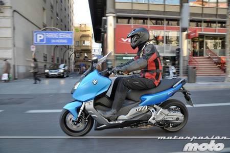 BMW C 600 Sport, prueba (conducción en ciudad y carretera)