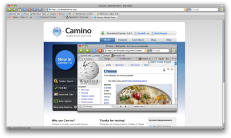Camino 2.0 b3 ya disponible