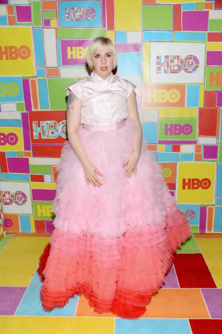 Lena Dunham emmys 2014 fiestas famosas