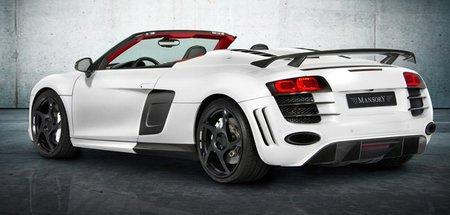 Mansory prepara el Audi R8 Spyder