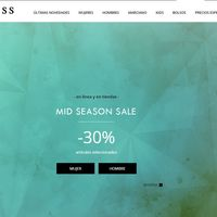 Mid Season Sale en Guess: descuentos del 30% y envío gratuito sin pedido mínimo