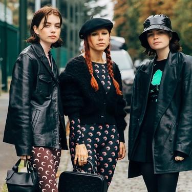 El estampado de medias lunas que ha invadido todo Instagram es de Marine Serre, la firma de moda que tener en el radar