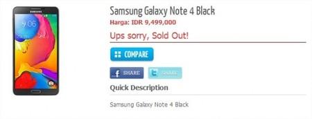Galaxy Note 4 con todas sus especificaciones al descubierto