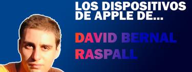 Los dispositivos de Apple de David Bernal Raspall: iPhone, iPad Pro, MacBook Pro y Apple Watch, y qué uso hace de ellos
