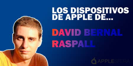 Los dispositivos de Apple de David Bernal Raspall: iPhone, iPad Pro, MacBook Pro y Apple Watch, y qué uso hace de ellos