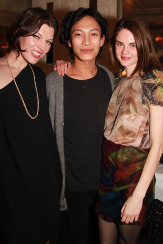 Todas las amigas de Alexander Wang en su fiesta de bienvenida a París