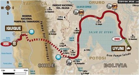 Recorrido Etapa8 Dakar2015