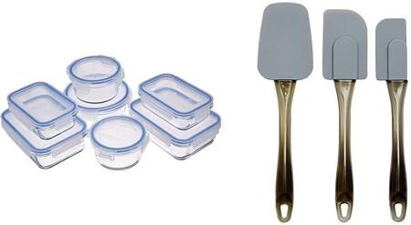 Recipientes de cristal para alimentos