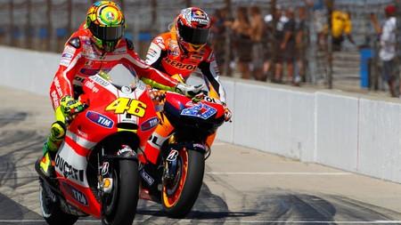 Rossi Stoner Motogp 2011