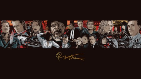 Quentin Tarantino Magnet Todas Sus Referencias Universo