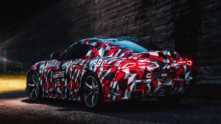 Toyota Supra 2019 A90 Goodwood 8