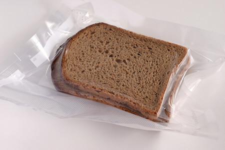 El envasado al vacío. Pan