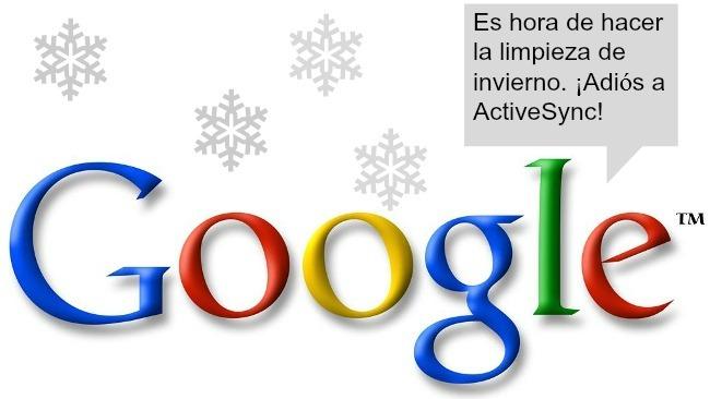 Google hace limpieza de servicios y dice adiós al soporte para ActiveSync
