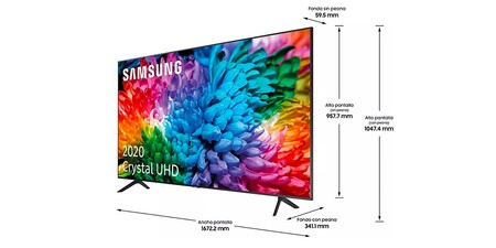 Samsung Crystal Uhd 75tu7125 Medidas