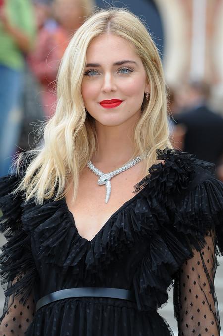 Chiara Ferragni muy guapa de día y de noche en el Festival de Venecia