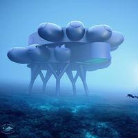 Este espectacular edificio es el hábitat submarino para investigación que quiere construir el nieto de Jacques Cousteau en Curazao